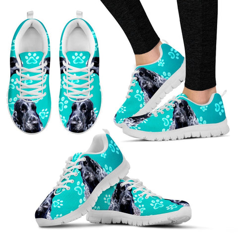 Customized Dog Print Running Shoes For Women-Free Shipping-Designed By Marina Christensen