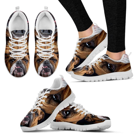 Bulldog-Running Shoes For Women-Free Shipping