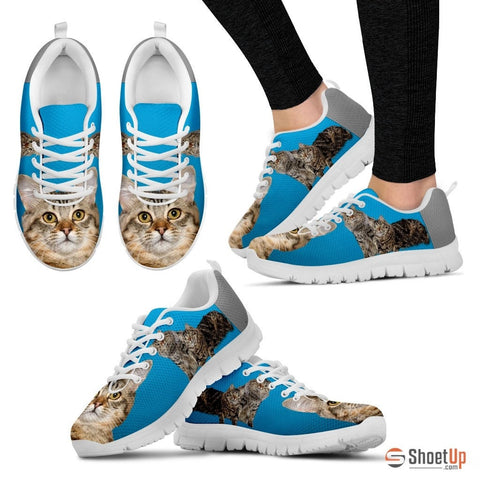 Cute American Bobtail 3D Print Running Shoes - Free Shipping