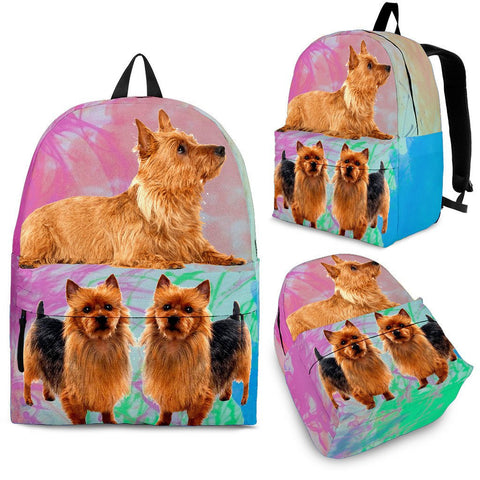Australian Terrier Dog Print  Back Pack- Free Shipping