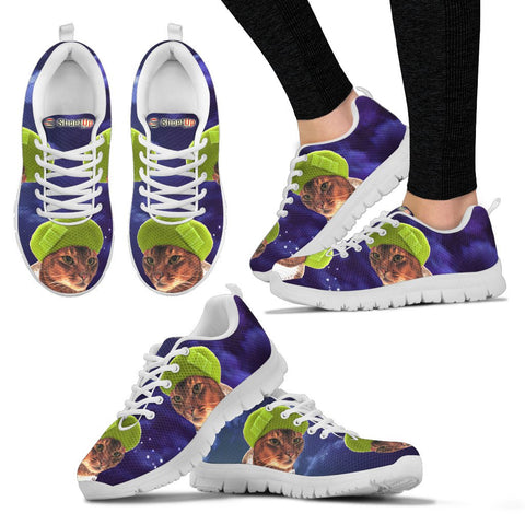 Shoetup - Abyssinian Cat (Halloween) Print-Running Shoes For Women/Kids