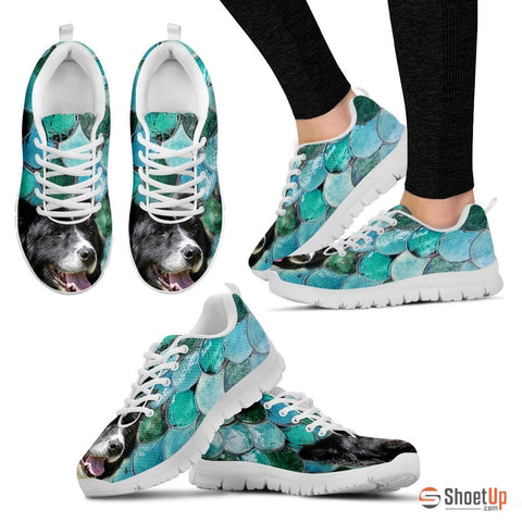 Border Collie-Dog Running Shoe For Women-Free Shipping