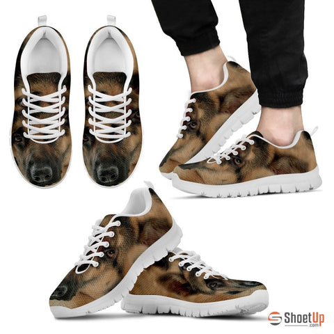 German Shepherd Dog Men Running Shoes - Free Shipping