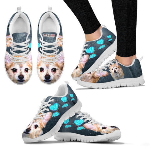 Customized Cute Dog Print Running Shoes - Free Shipping