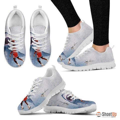 'Play With Shark' Unisex Running Shoes - Free Shipping