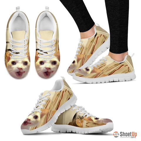 Cat-Running Shoes For Women-3D Print-Free Shipping