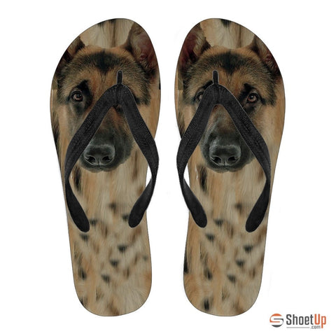 German Shepherd Women Flip Flops- Free Shipping