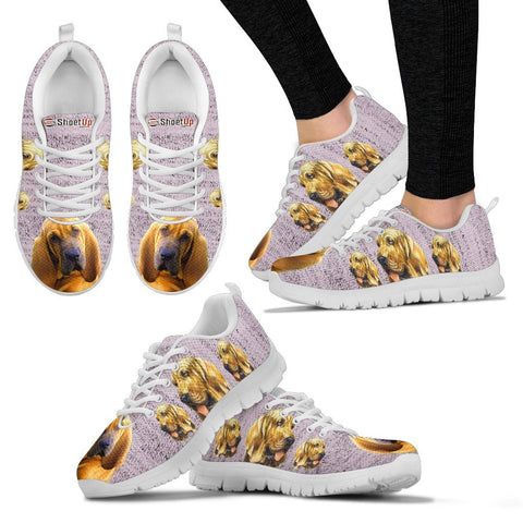 Bloodhound Dog-Women's Running Shoes-Free Shipping