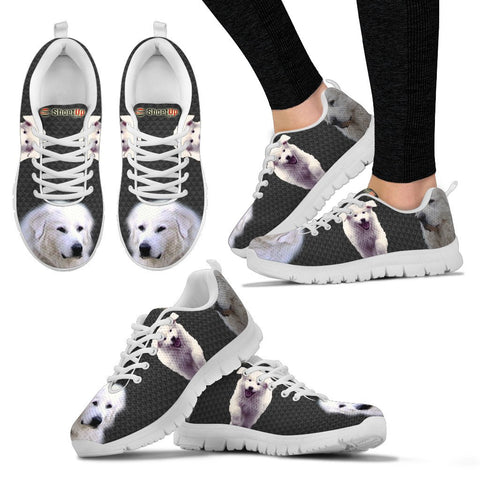 Great Pyrenees Dog-Women's Running Shoes - Free Shipping