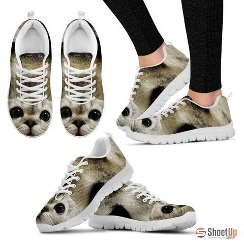 Cat Designed High Tops Shoes