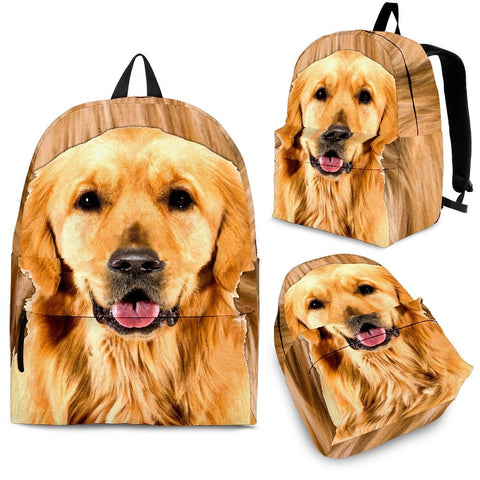 Golden Retriever Kid's Back Pack- Free Shipping