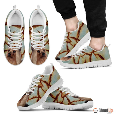 Silky Terrier Dog Running Shoes For Men-Free Shipping