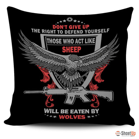Right to Defend - Pillow Cover (Free Shipping)