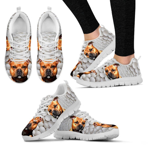 Staffordshire Bull Terrier Running Shoes - Free Shipping