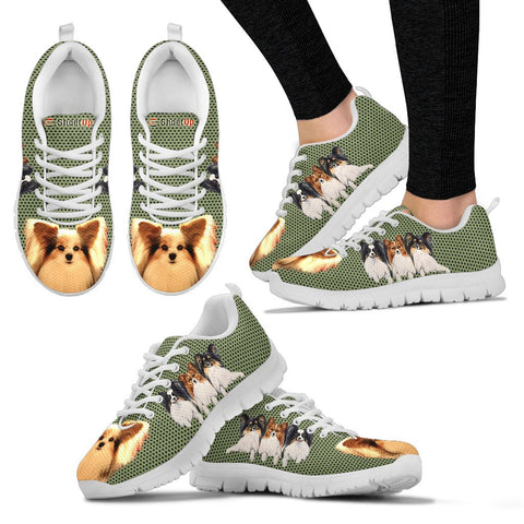 Papillon  Dog-Women's Running Shoes-Free Shipping