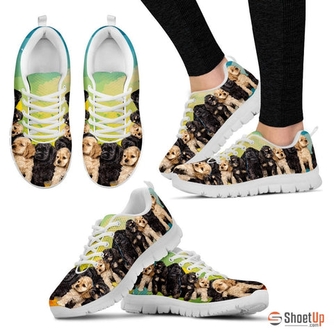 Cocker Spaniel Women Running Shoes - Free Shipping