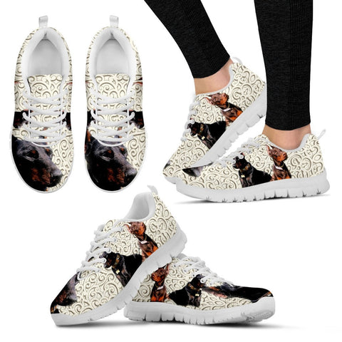 Doberman Pinscher-Dog Running Shoes For Women-Free Shipping