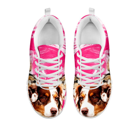 Australian Shepherd Print Running Shoes - Free Shipping