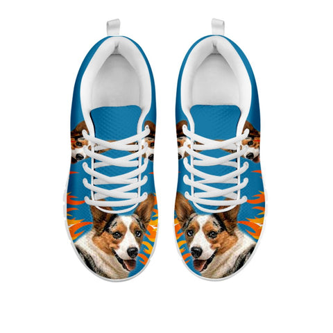 Amazing Cardigan Welsh Corgi Print Running Shoes For Women-Free Shipping-For 24 Hours Only