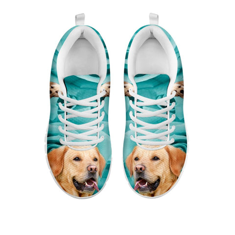 Shoetup - Cute Labrador Print Sneakers For Women