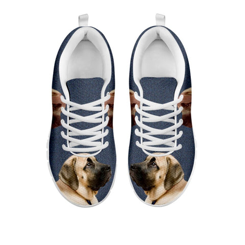 Amazing English Mastiff Print Running Shoes - Free Shipping