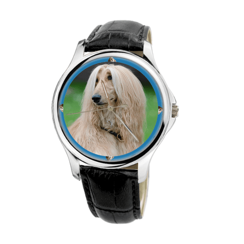 Afghan Hound Fashion Unisex Wrist Watch - Free Shipping