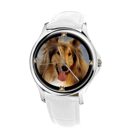 Collie Print Fashion Women's Wrist Watch - Free Shipping
