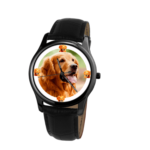 Golden Retriever Unisex Wrist Watch-Free Shipping