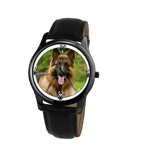 German Shepherd Unisex Wrist Watch-Free Shipping