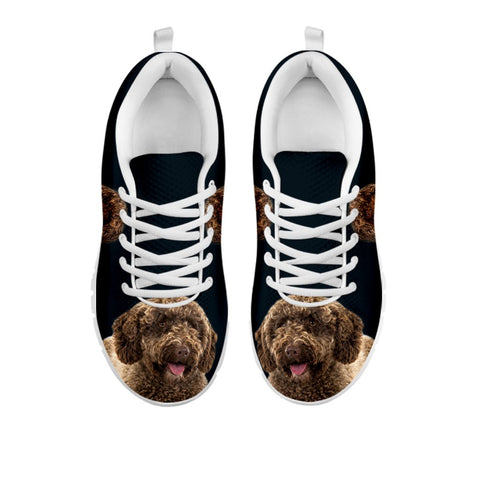 Shoetup - Amazing Spanish Water Dog Print Running Shoes For Women