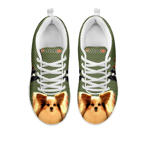 Shoetup - Amazing Papillon  Dog-Women's Running Shoes