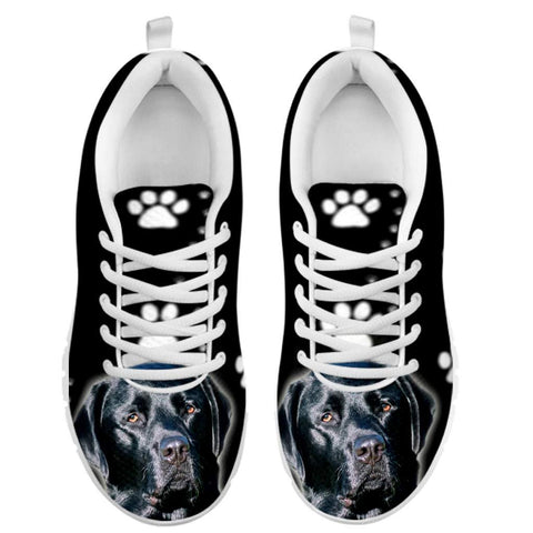Black Labrador-Dog Running Shoes -Free Shipping