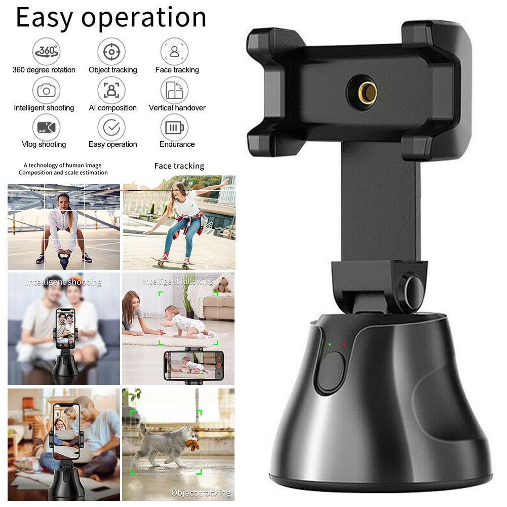 Auto Tracking Smart Shooting Phone Holder