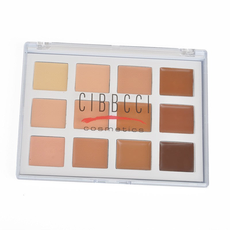12 Colour Face Cream Contour Kit