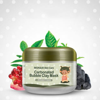 CARBONATED BUBBLE MASK - DEEP PORE CLEANSING CLAY MASK - Get It 4 Me