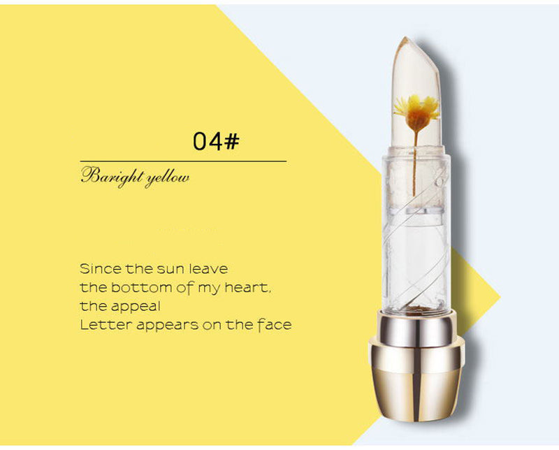 FLOWER JELLY LIPSTICK - MAGIC COLOR TEMPERATURE CHANGE