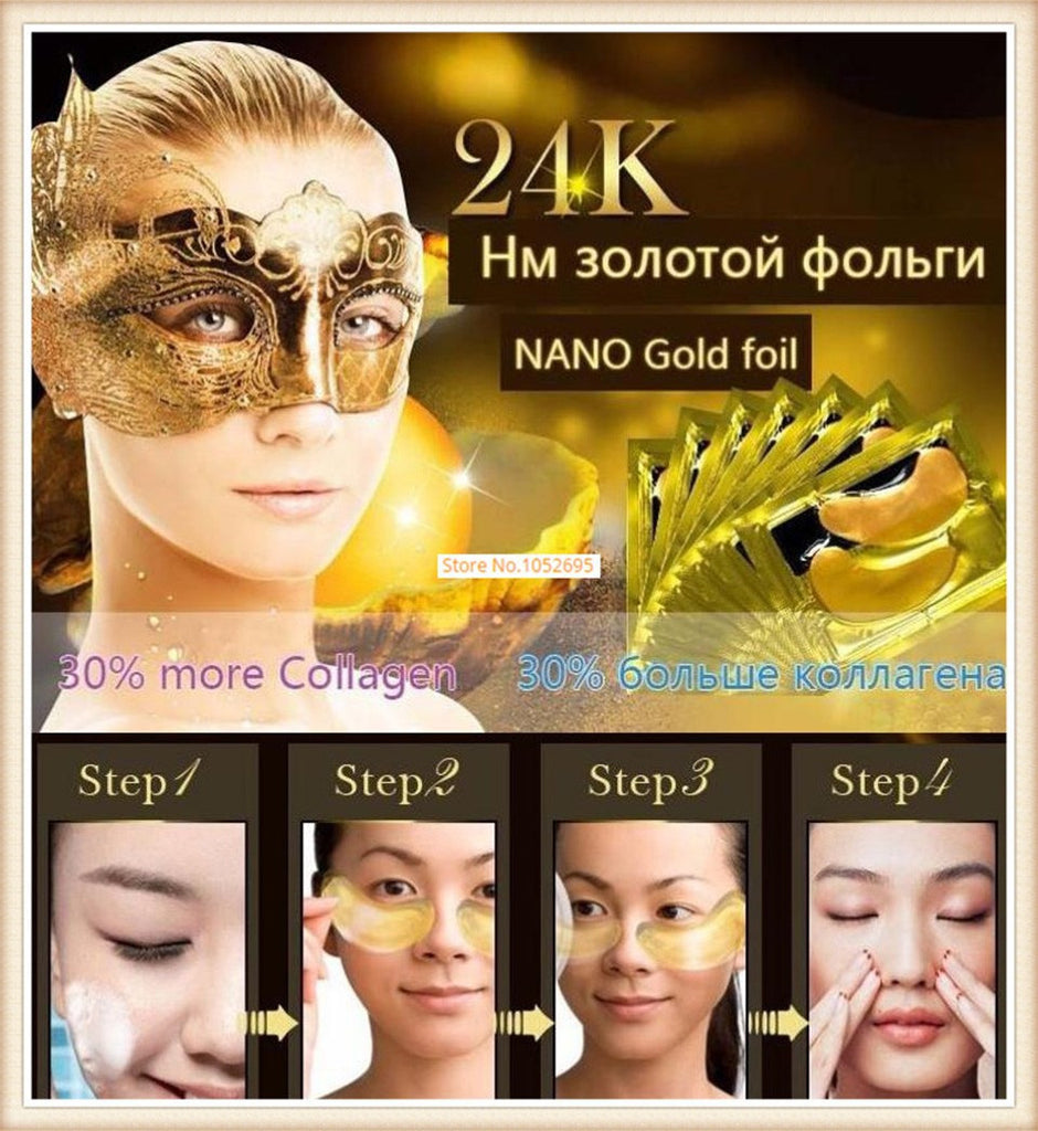 24K Gold Eye Mask - Get It 4 Me