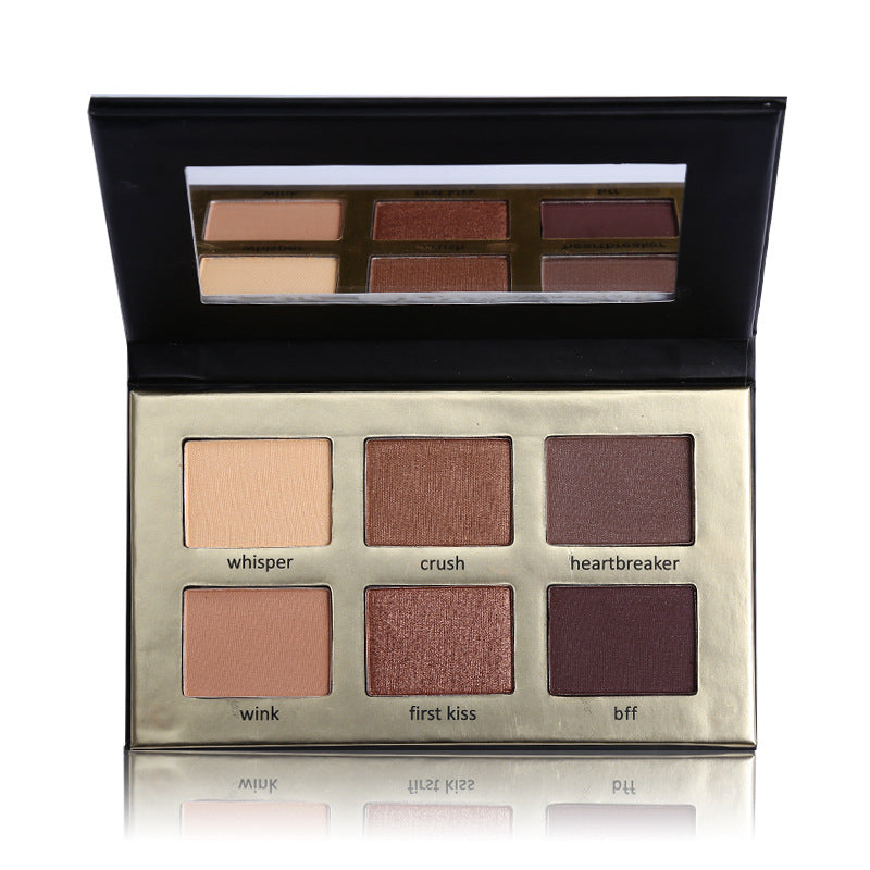 6 Color Matte Natural Eye Shadow Palette