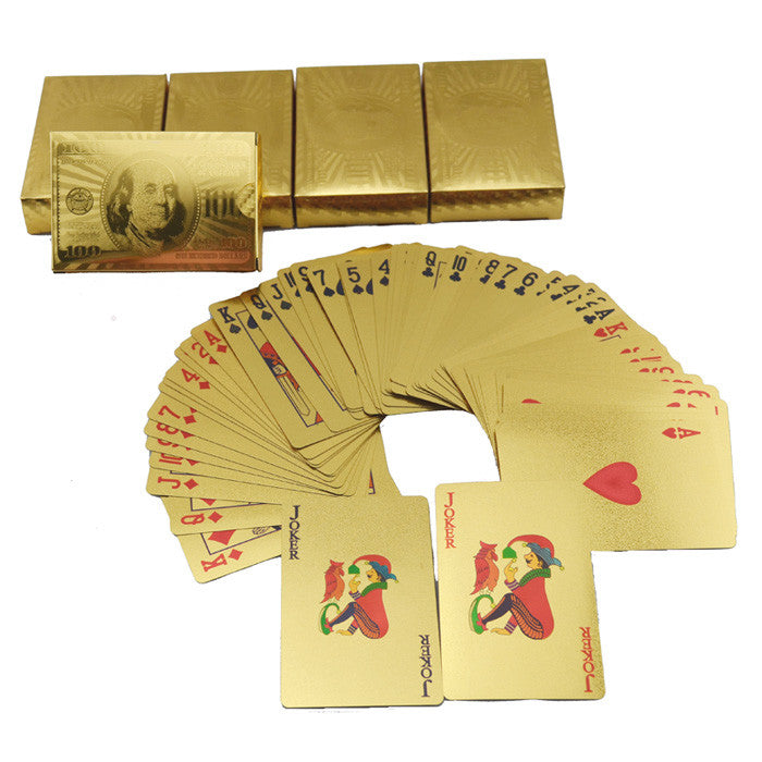 GOLD FOIL PLAYING CARDS