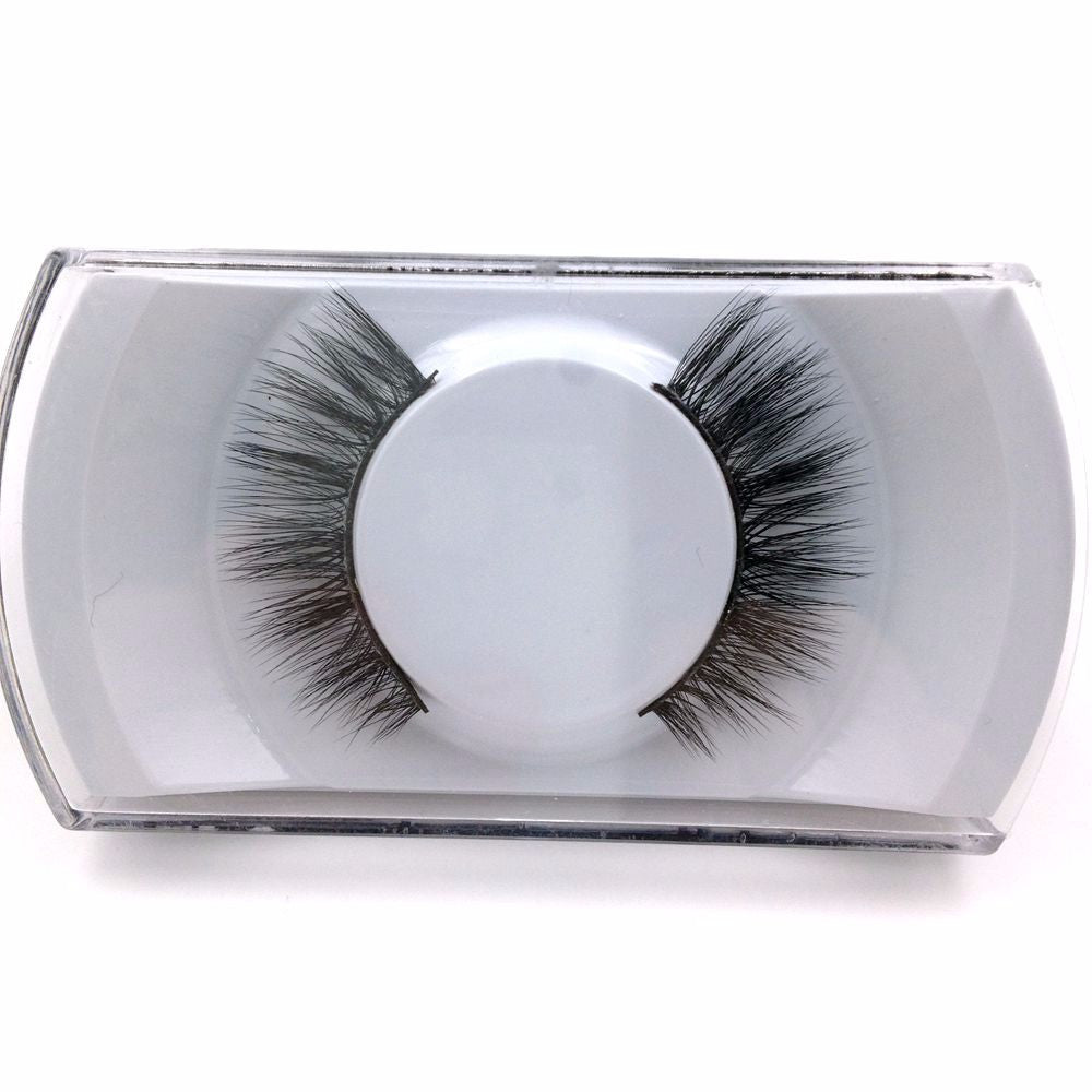 1Pair Natural False Eyelashes - Get It 4 Me