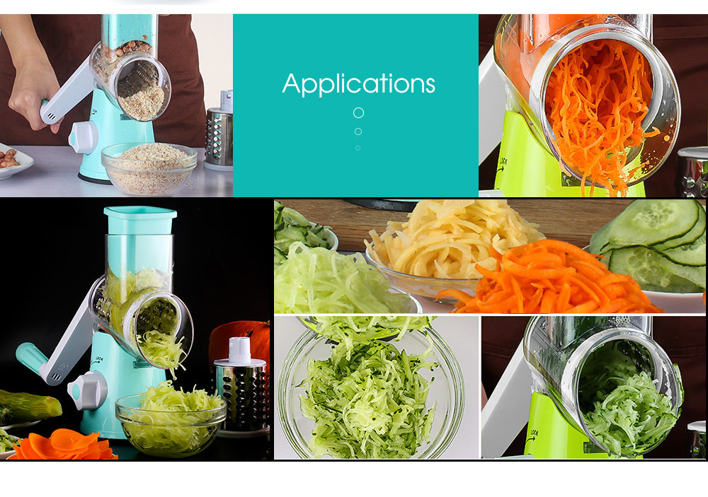 Spiralizer 3-Blade Vegetable Slicer® - SAVE 55% TODAY