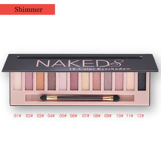12 NUDES - EYE SHADOW PALETTE
