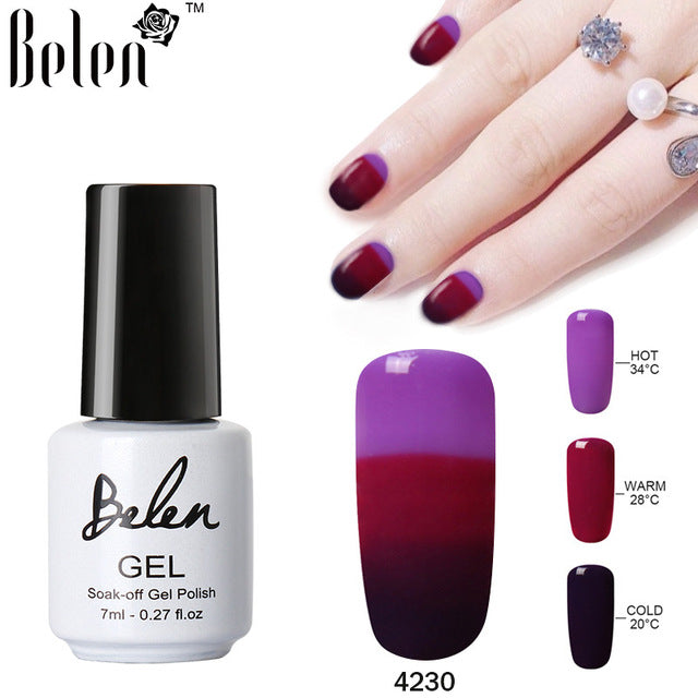 3 in 1 Color Changing Nail Polish Gel