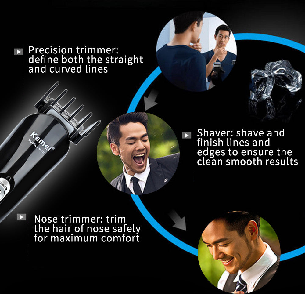 Professional 6 In 1 Hair Clipper Shaver Sets