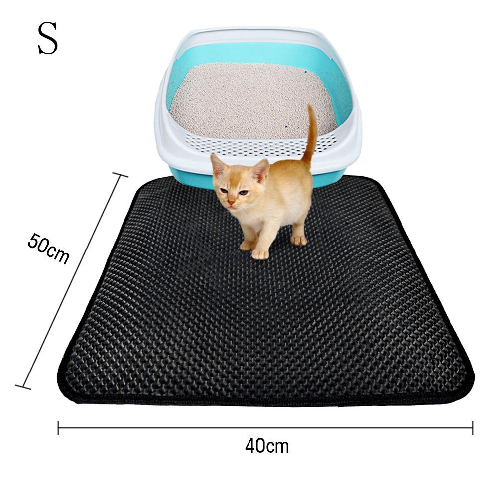 Double Layer Cat Litter Mat with Free Shovel