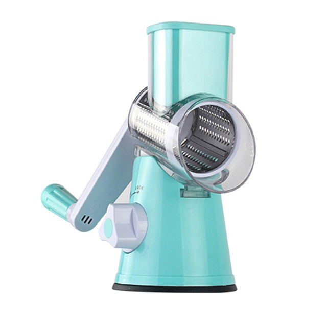 Manual Vegetable Cutter Blue