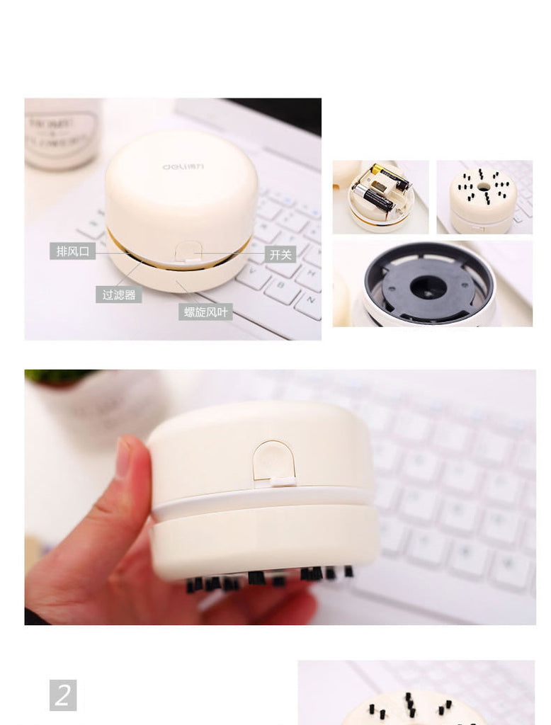Mini Deli Desktop Vacuum Cleaner