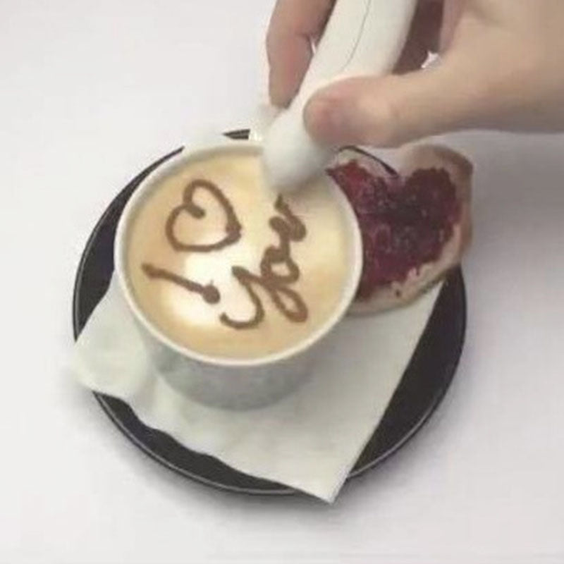 Bird Shaped Electrical Latte Art Pen for Coffee