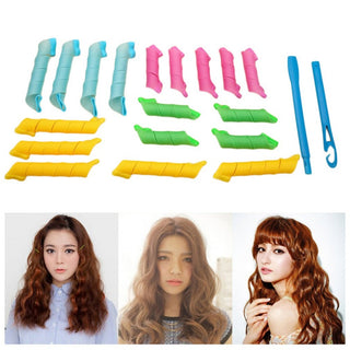 18 PCS MAGIC HAIR CURLER