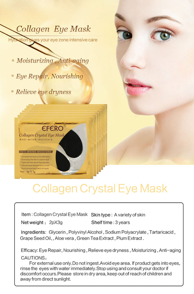Black Collagen Crystal Eye Mask